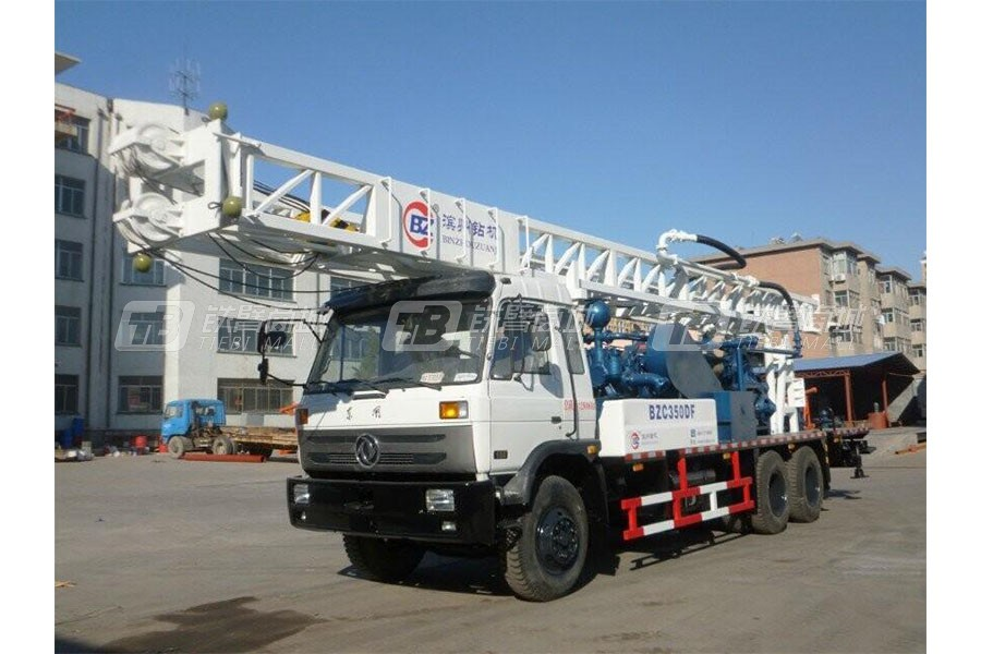 滨州钻机BZC350DF车载式钻机