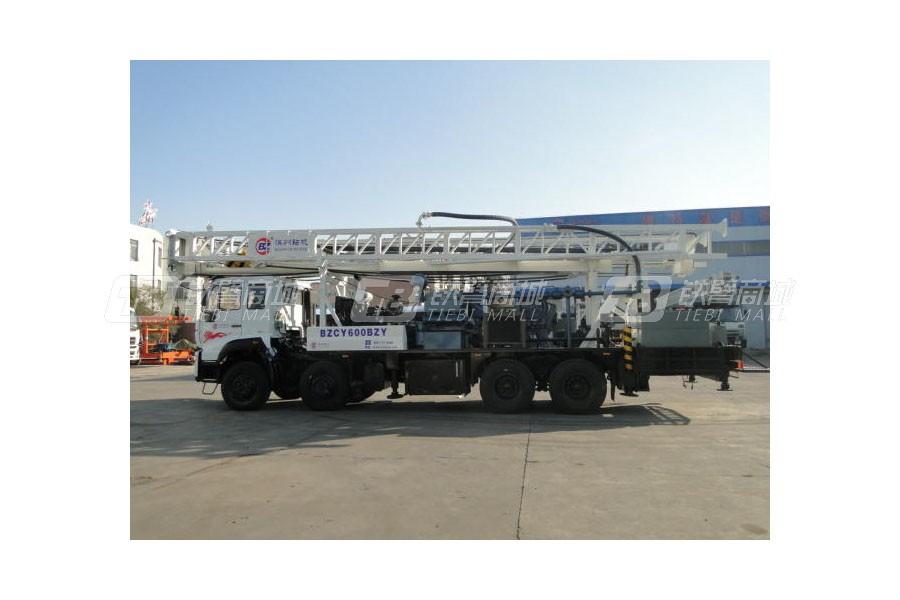 滨州钻机BZCY600XCWY8车载式钻机