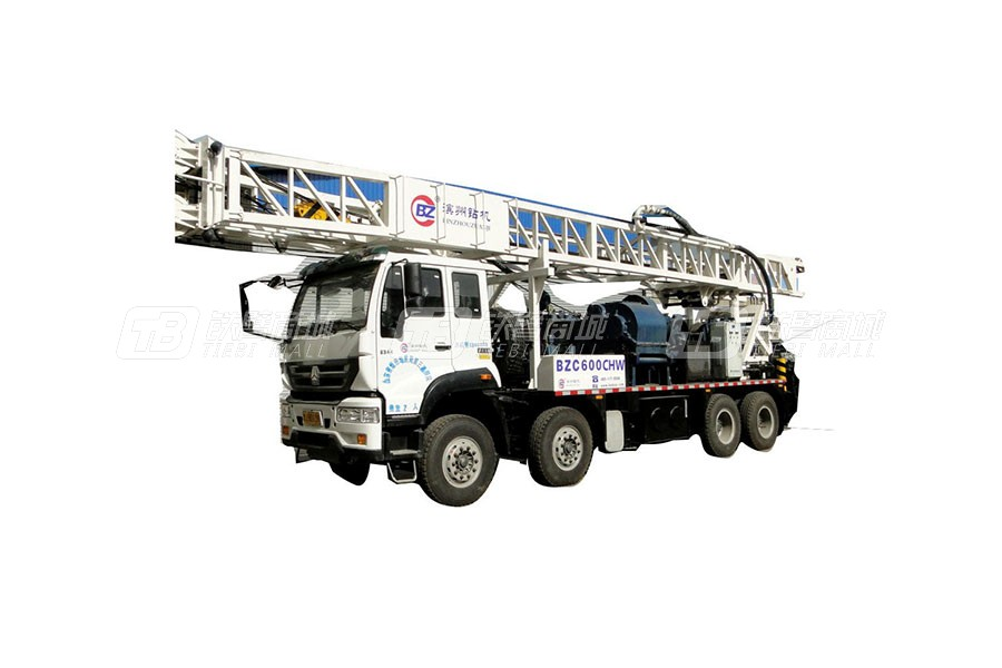 滨州钻机BZCY600CHW车载式钻机