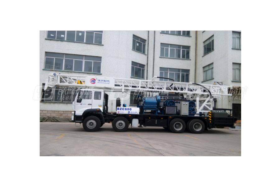 滨州钻机BZC600CWY8x4IV车载式钻机