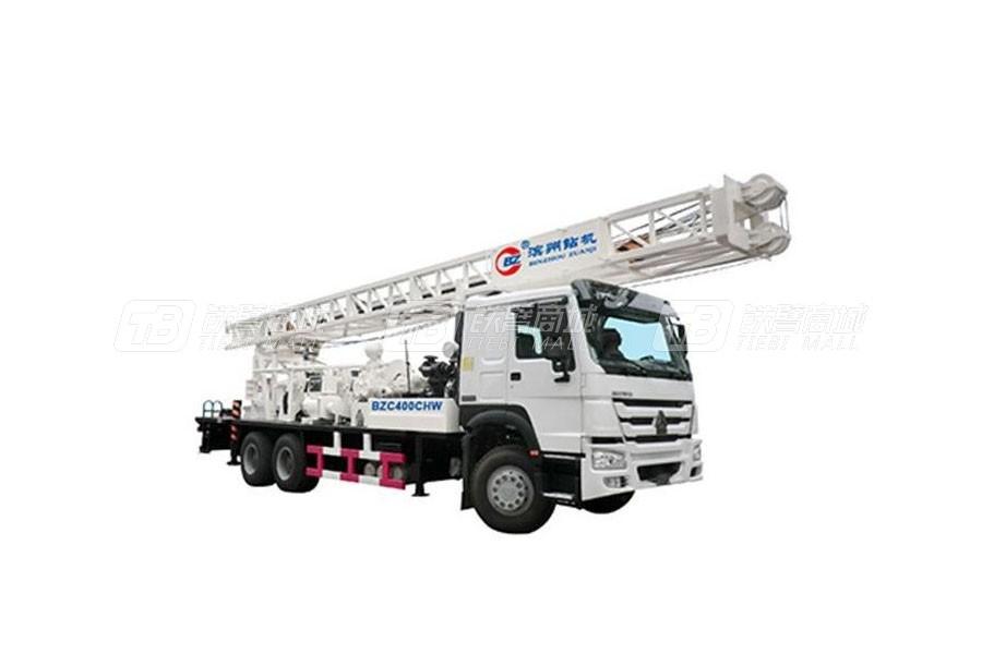 滨州钻机BZC400CHW车载式钻机