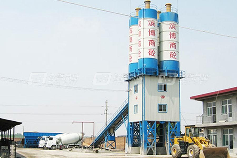 华光机械HZS-J180混凝土搅拌站