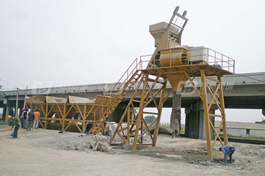 华光机械HZS-50混凝土搅拌站