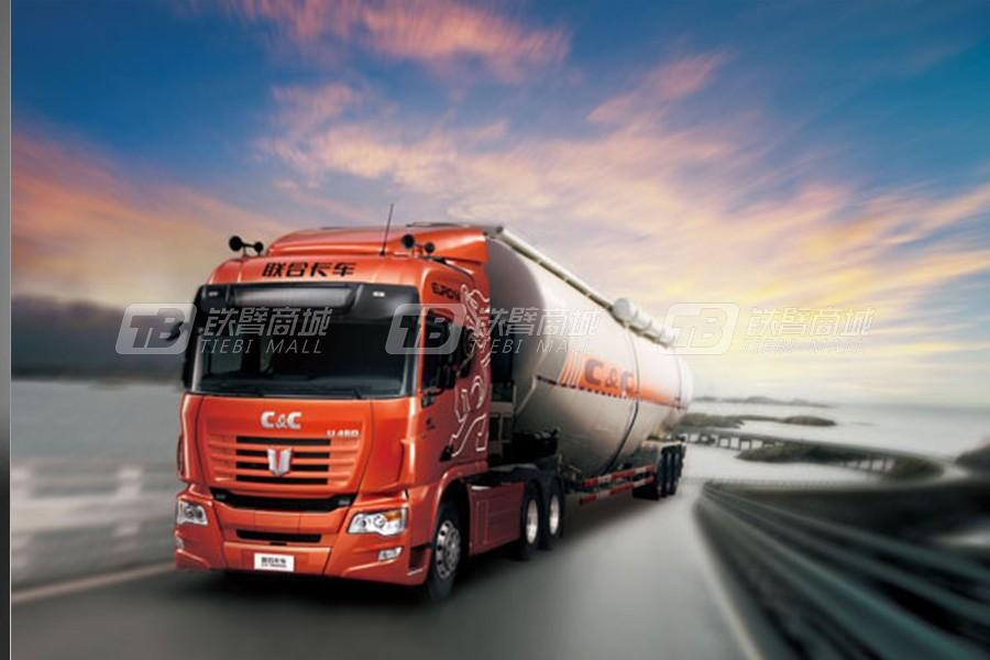联合卡车6×4中长途运输公路牵引车