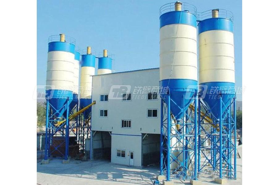 铁建重工HZS120Z管桩式混凝土搅拌站