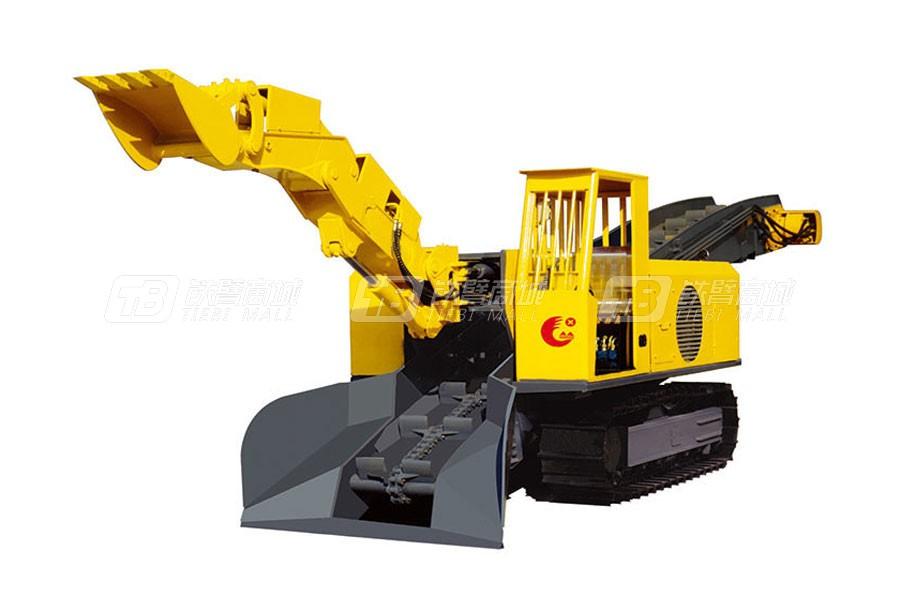 华鑫重工STB-100D大坡度专用履带式扒渣机