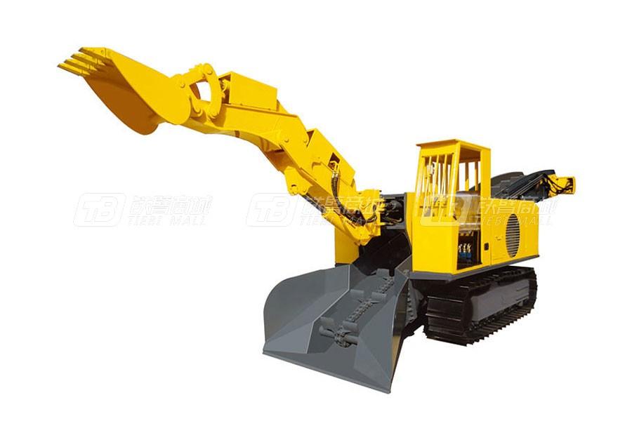 华鑫重工STB-120D大坡度专用履带式扒渣机