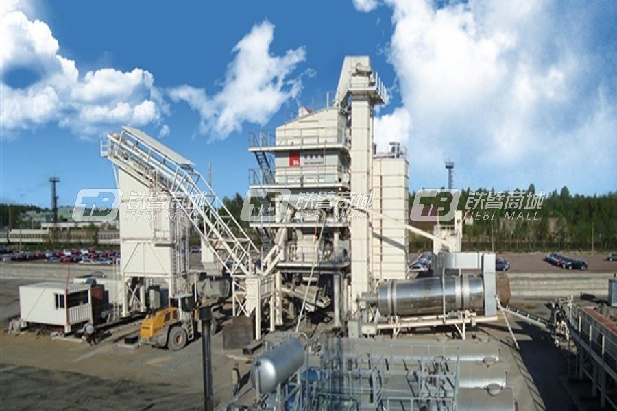 德基机械集装箱模块式沥青混合料搅拌设备