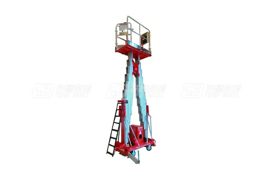 美通重工CMP-12桅柱式高空作业平台