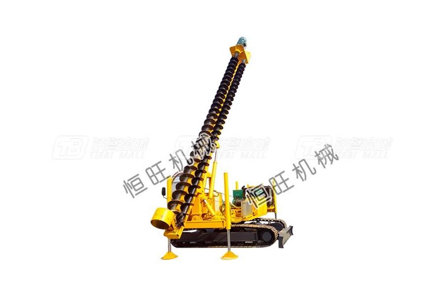 恒旺工矿8米长螺旋压桩机/打桩机