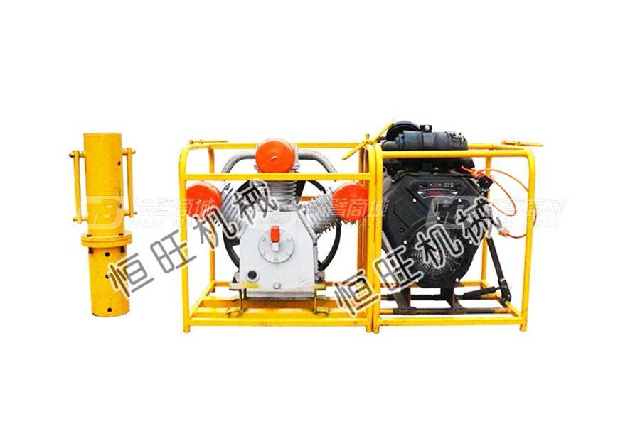 恒旺工矿便携式防汛小型打桩机