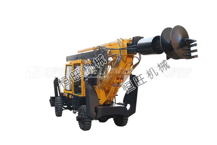 恒旺工矿轮式旋挖钻机