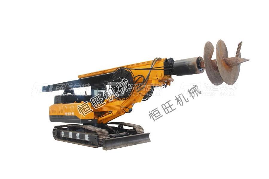 恒旺工矿履带式旋挖钻机