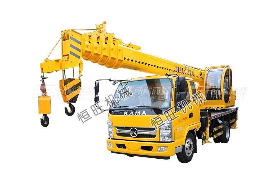 恒旺工矿凯马8吨汽车起重机