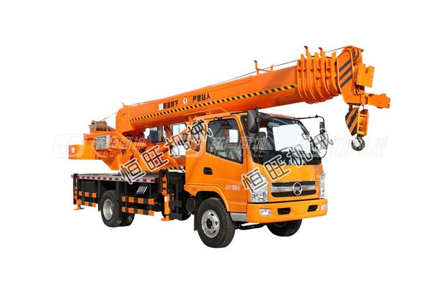 恒旺工矿凯马10吨汽车起重机