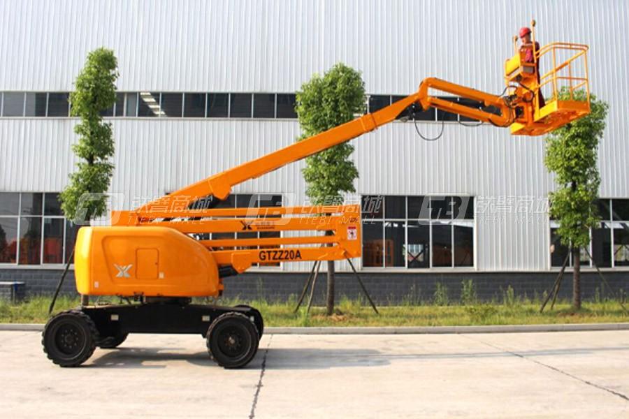 运想重工GTZZ18曲臂式高空作业平台