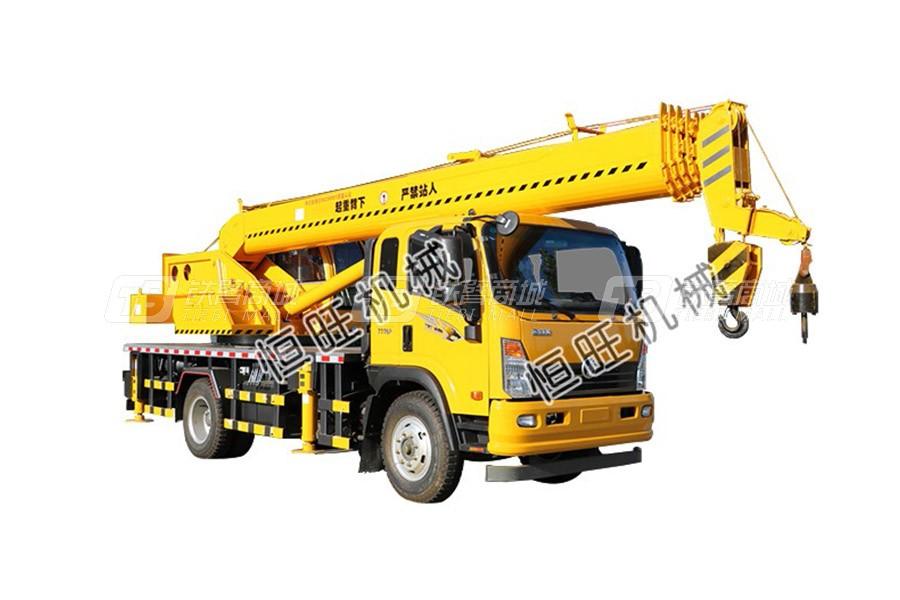 恒旺工矿重汽12吨汽车起重机