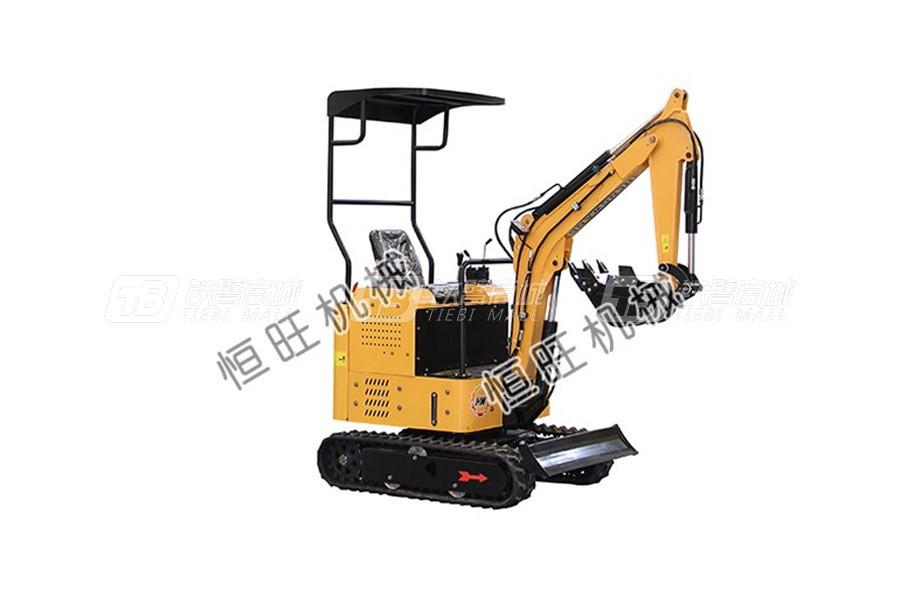 恒旺工矿0.8吨小型挖掘机