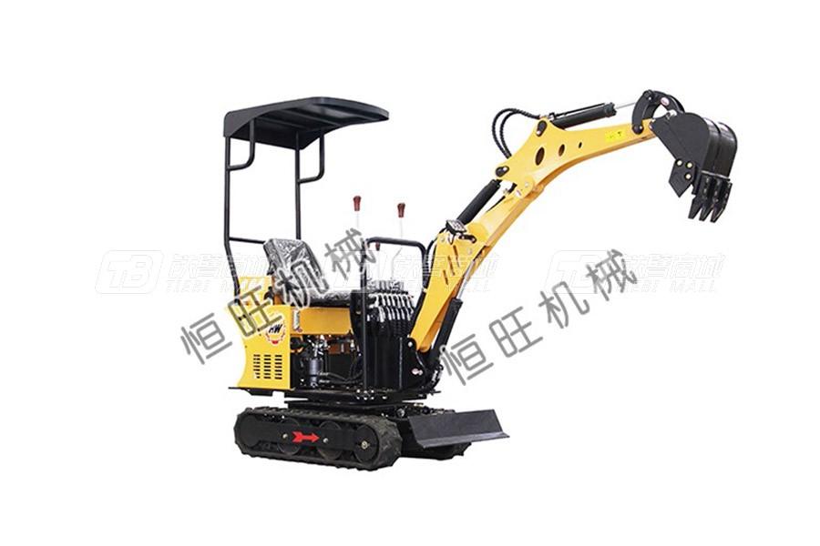 恒旺工矿1吨小型挖掘机
