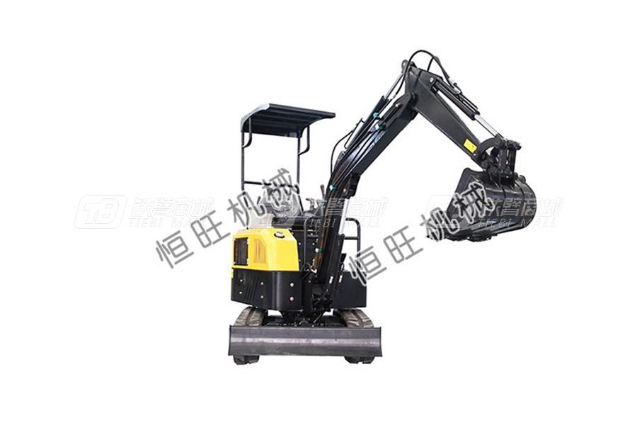 恒旺工矿1.8/2.0吨小型挖掘机