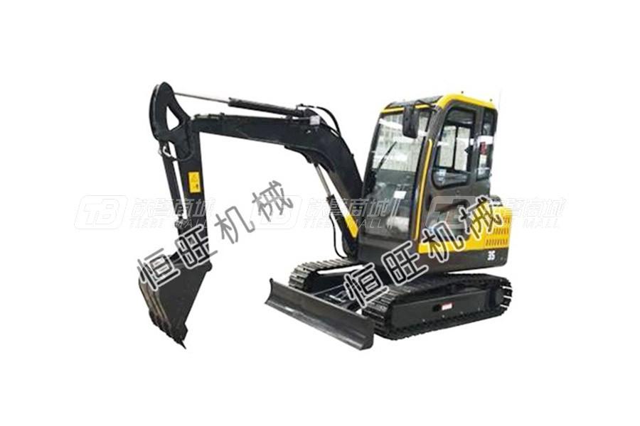 恒旺工矿3.5吨小型挖掘机