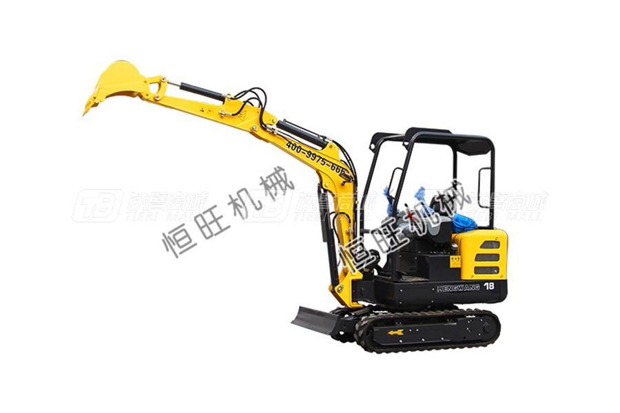 恒旺工矿HW8022小型液压挖掘机
