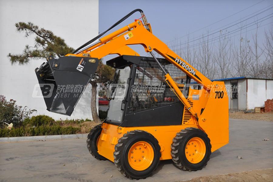 海松机械HY700滑移装载机