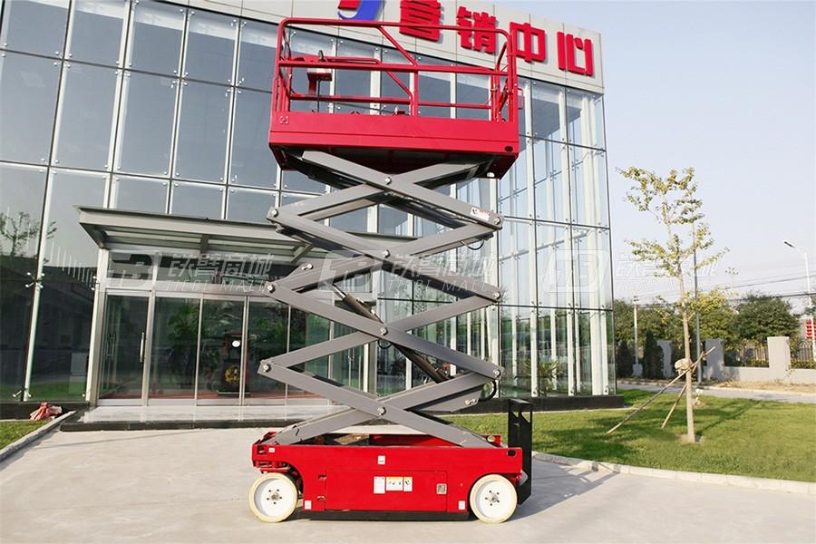 京城重工GTJZ0808A窄型自行剪叉式高空作业平台