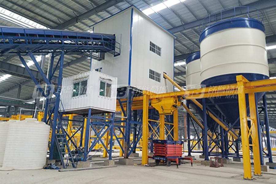 冠成机械HLS90全环保型混凝土搅楼