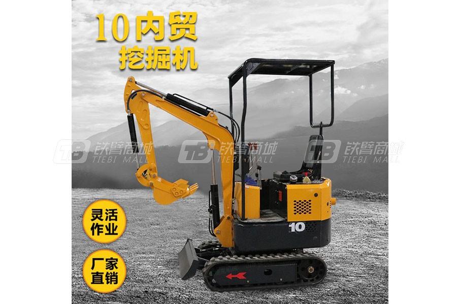 捷克机械JKW-10微型挖掘机