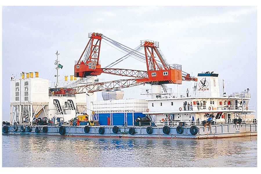 南方路机HZS50海工混凝土搅拌站
