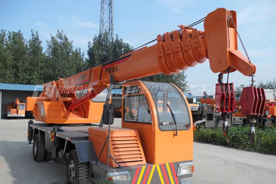 济宁鸿业8吨汽车起重机