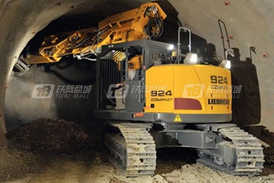 利勃海尔R 924紧凑型隧道Litronic履带挖掘机