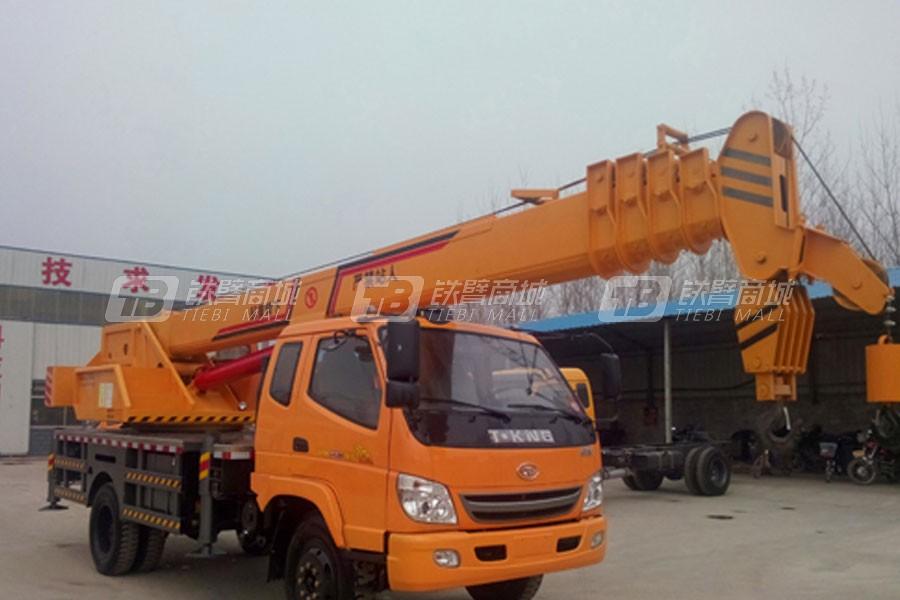 济宁鸿业10吨汽车起重机