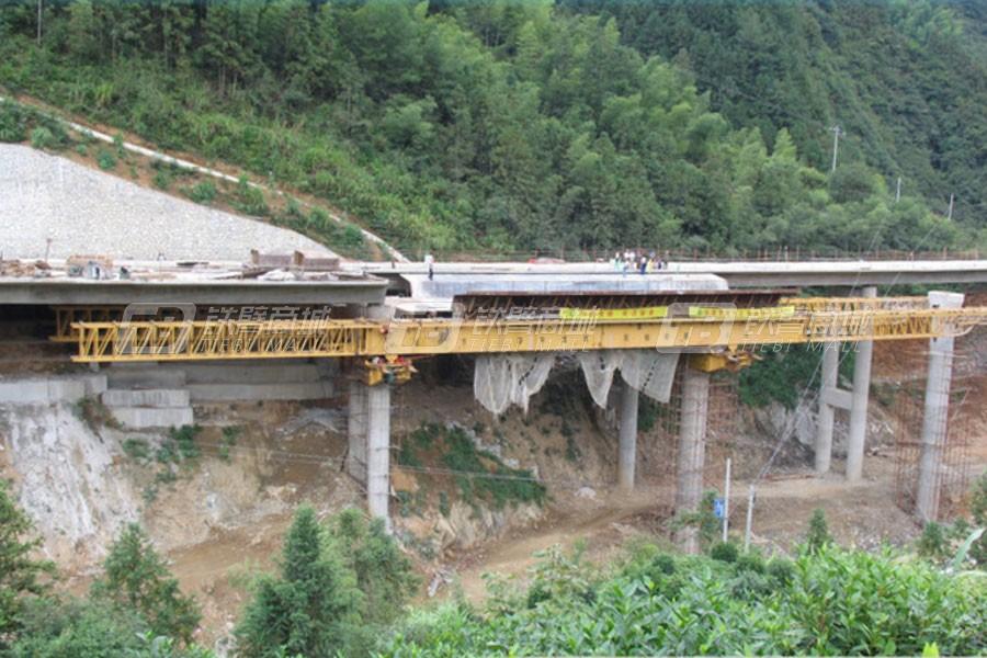 华中建机MSS650下行式移动模架桥梁式起重机