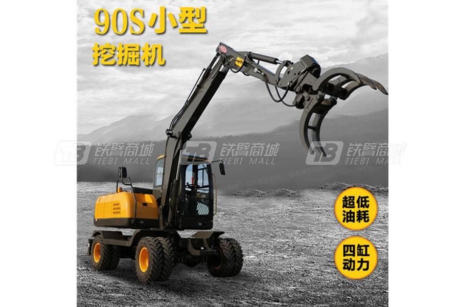 捷克机械JKW-90S轮式挖掘机