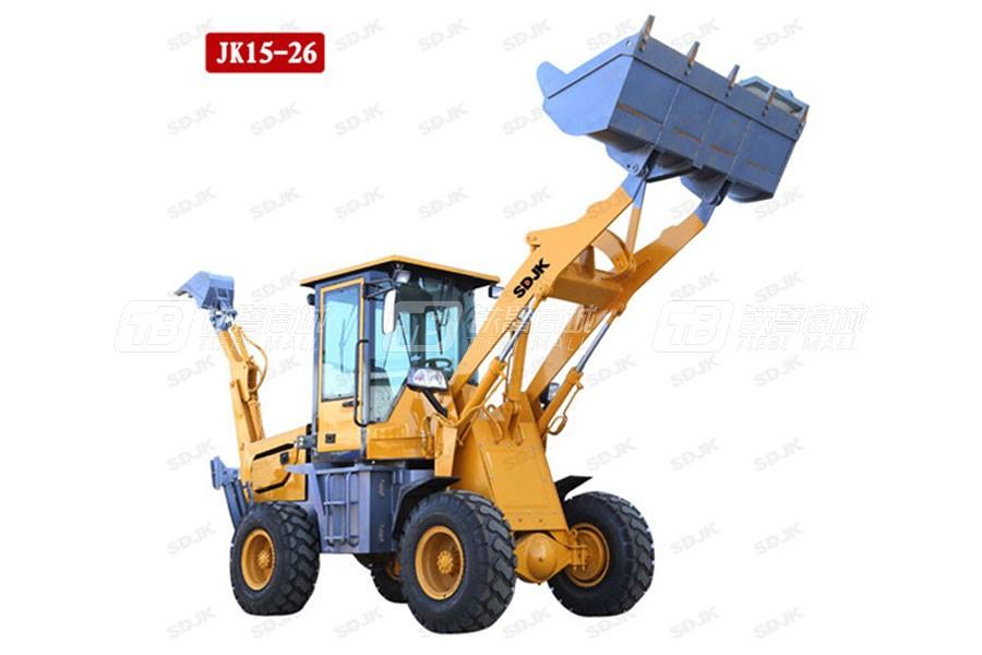 捷克机械JK15-26两头忙挖掘装载机
