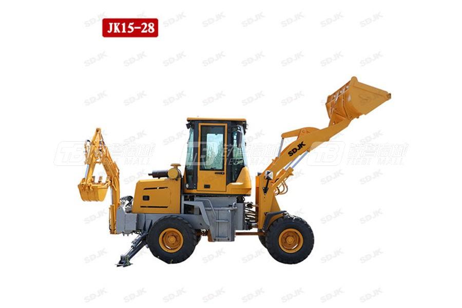 捷克机械JK15-28两头忙挖掘装载机