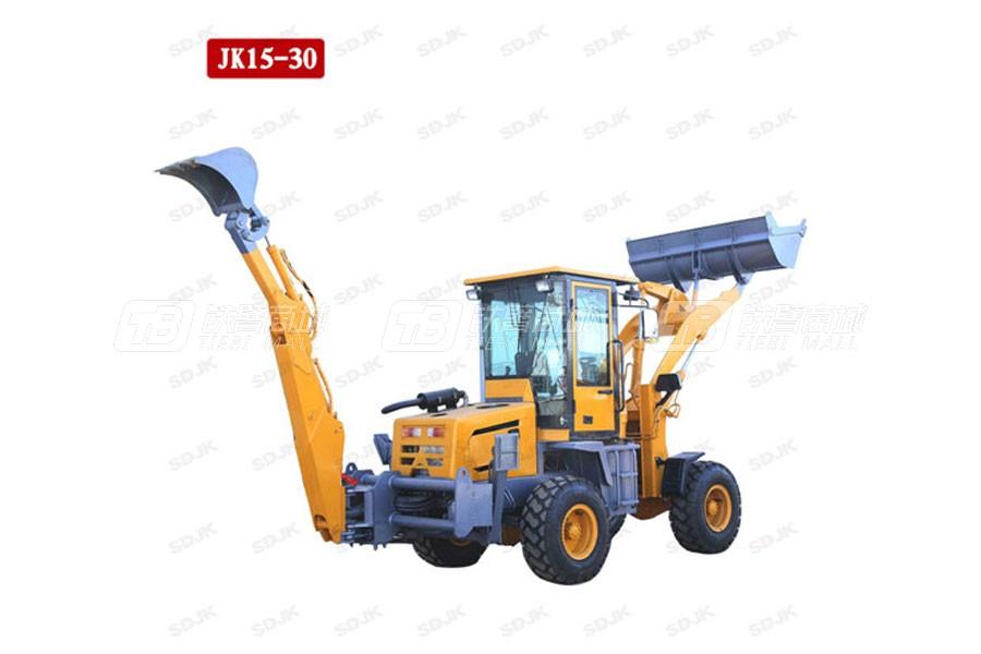 捷克机械JK15-30两头忙挖掘装载机