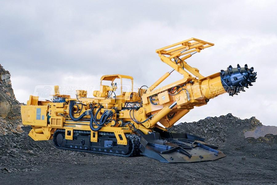 石煤EBZ260T物探掘进机