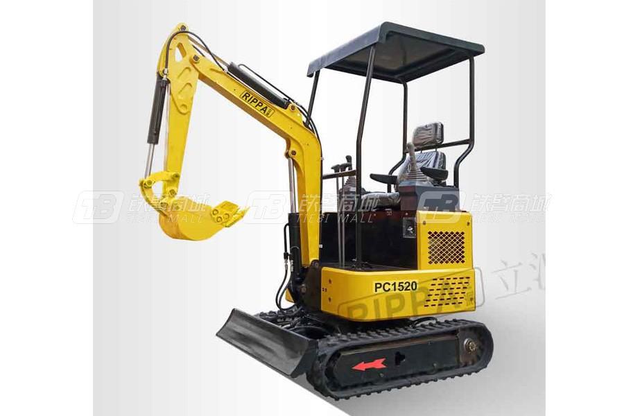 立派PC1520常柴双侧先导出口版履带挖掘机