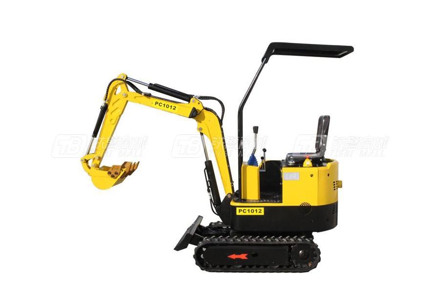 立派PC1012带顶棚履带挖掘机