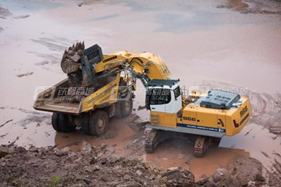 利勃海尔R 966 Litronic挖掘机