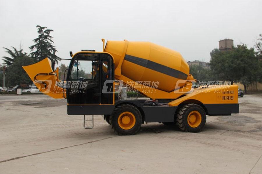 鸿源HY350自上料水泥搅拌罐车