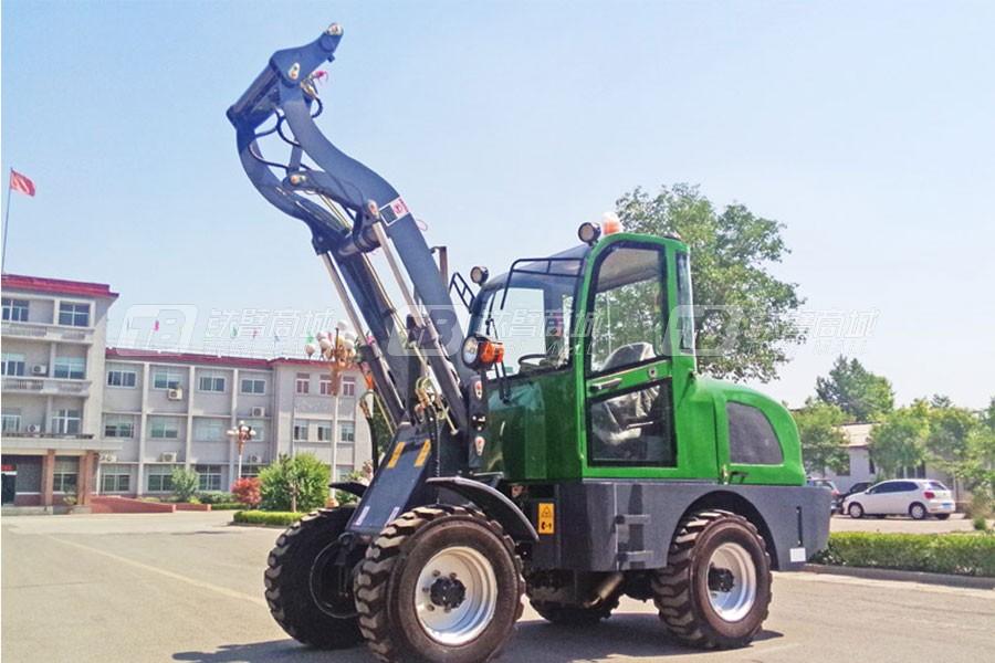 鸿源HY610轮式挖掘机