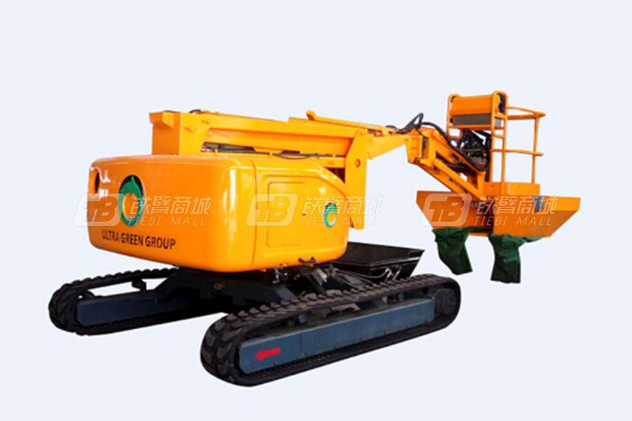 运想重工GTZZ9.5履带曲臂式果园采摘机(11米)