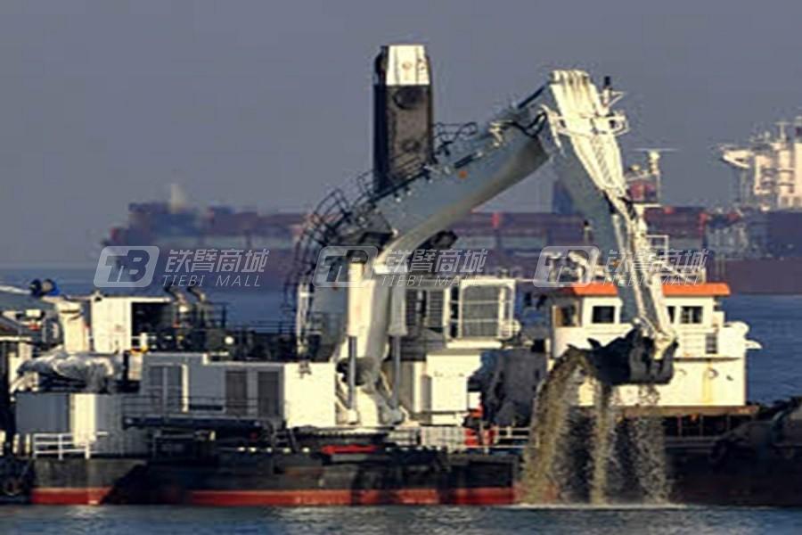 利勃海尔P 9350 Litronic浮式挖掘机