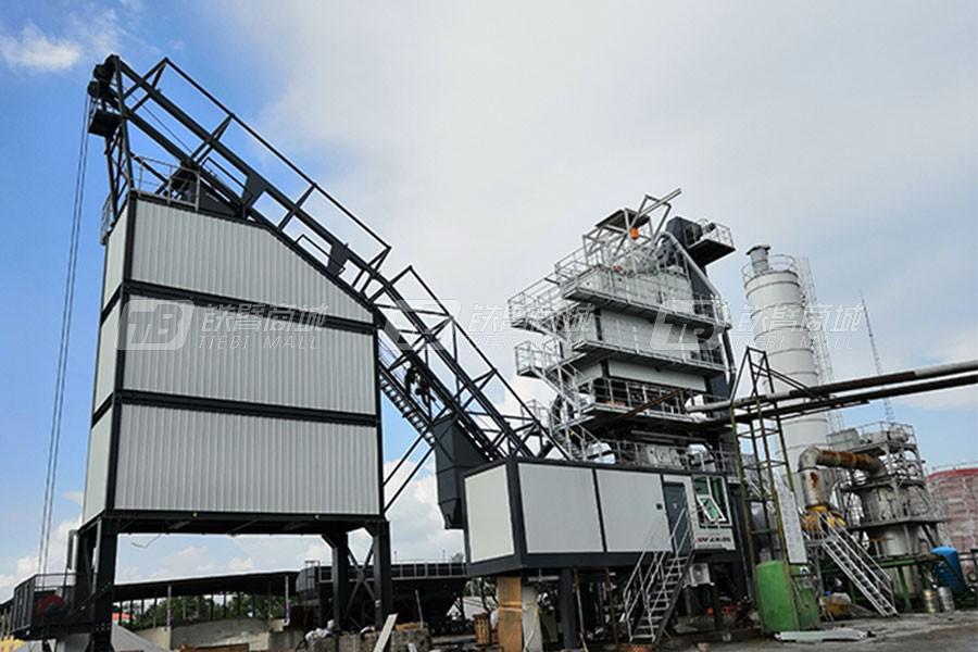 南方路机LB2000成品仓旁置式沥青混合料搅拌设备