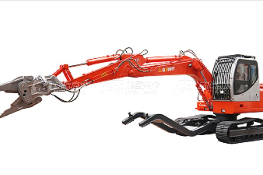 邦立重机CJ180-8柴油型汽车拆解机