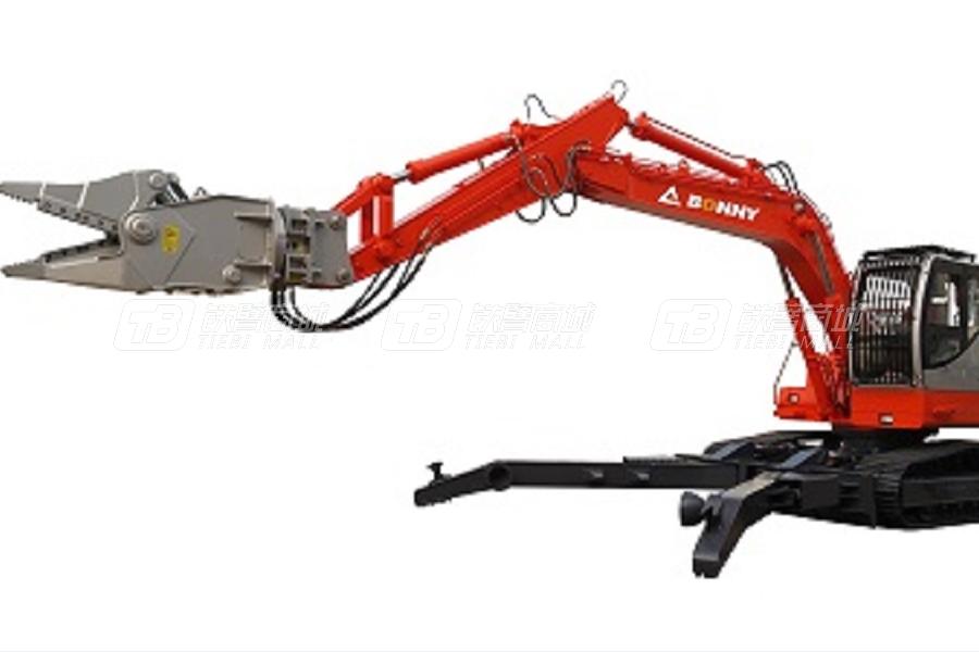 邦立重机CJ260-8柴油汽车拆解机